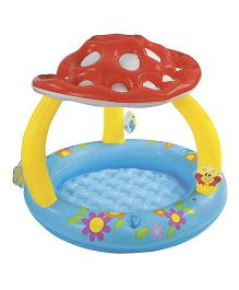 Intex Inflatable Mushroom Pool - Multicolour