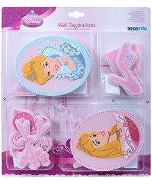 Decofun Disney Princess Foam Room Decorative Stickers - 24 Pieces
