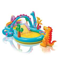 Intex Dinoland Play Center Pool - Multicolor