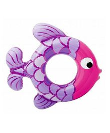 Intex Fish Swim Ring - Purple