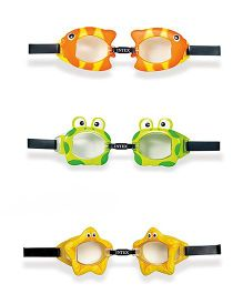 Intex Fun Goggles Assorted Colours - Pack of 1