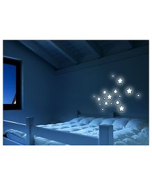Home Decor Line - 3D Foam Glow Sticker Stars Print Medium