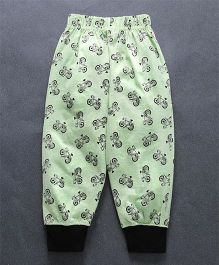 Taeko Lounge Pants Cycle Print - Green