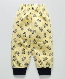 Taeko Lounge Pants Cycle Print - Yellow