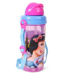Disney Sipper Bottle Snow White Print Pink & Blue - 500 ml
