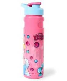 Disney Insulated Sipper Bottle Cinderella Print Pink & Blue - 750 ml