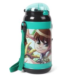 Ben 10 Sipper Bottle Green - 450 ml