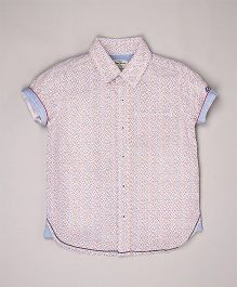 Pepe Jeans Printed Casual Shirt - Multicolor
