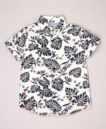 Pepe Jeans Printed Casual Shirt - White