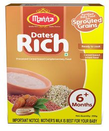 Manna Dates Rich Cereal Based Food - 200 gm