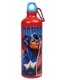 Marvel Avengers Water Bottle Red Blue - 750 ml