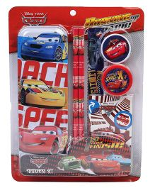 Disney Pixar Cars School Stationery Set - Multicolour