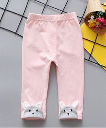 Dells World Cat Appliqued Leggings - Pink