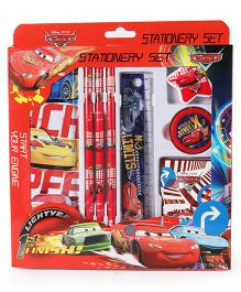 Disney Pixar Cars School Stationery Set - Red
