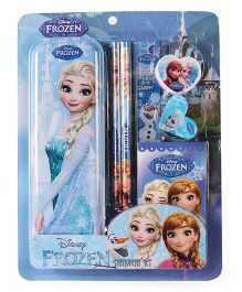 Disney Frozen Stationery Set Blue - 7 Pieces