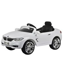 Deliababy BMW 4 Series Coupe Ride On Car - White