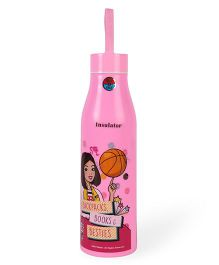 Barbie Regular Water Bottle Pink - 700 ml