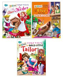 Sawan Board Fairy Tales Book Pack of 3 - English