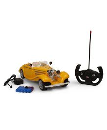 Dr. Toy Vintage Remote Control Car - Yellow