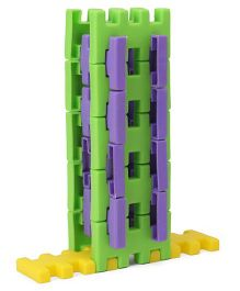 Fair Napco Construction Set Senior Building Blocks Multi Color - 54 Pieces