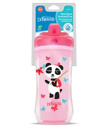 Dr. Brown's Hard Spout Insulated Cup Pink - 300 ml
