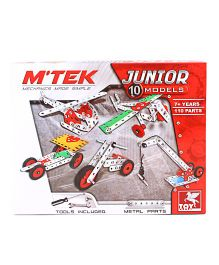 Toy Kraft Mtek Junior Construction Set - 110 Parts