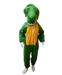BookMyCostume Crocodile Fancy Dress Costume - Green & Yellow