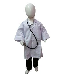 BookMyCostume Doctor Fancy Dress Costume - White