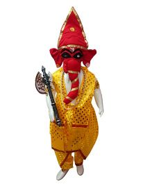 BookMyCostume Shri Ganesha Hindu God Fancy Dress Costume - Yellow & Red