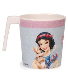 Disney Large Coffee Mug Princess Print - Off White Pink