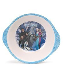 Disney Bowl With Handle Frozen Print - Blue White