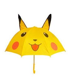 Pre Order - Superfie Pokemon Printed Umbrella - Yellow