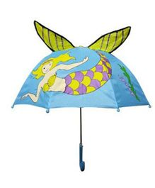 Pre Order - Superfie Water Fairy Printed Umbrella - L Blue