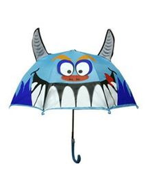 Pre Order - Superfie Shark Fish Printed Umbrella - Blue