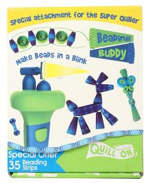 Quill On Beading Buddy Attachment For Super Quiller - Blue