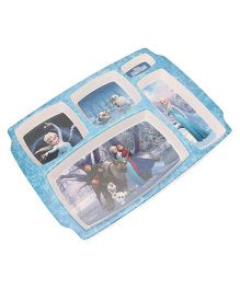 Disney Frozen Partition Plate - Blue White