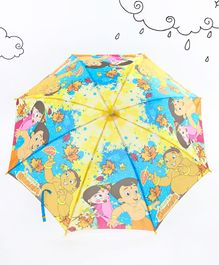 Chhota Bheem Printed Umbrella - Yellow