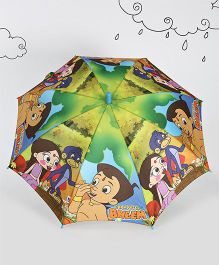 Chhota Bheem Printed Umbrella - Multi Color