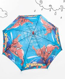 Marvel Spider Man Kids Umbrella - Blue & Yellow