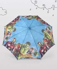 Marvel Avengers Themed Umbrella - Blue