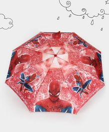 Marvel Spider Man Theme Umbrella - Red