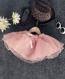 Pre Order - Awabox Netted Flarry Skirt - Pink