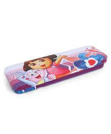 Dora Pencil Box With Tray - Purple
