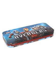 Avengers Pencil Box - Blue & Multi Colour