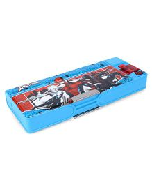 Marvel Spiderman Double Sided Pencil Box - Blue