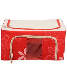 Home Union Floral Print Storage Box - Pink
