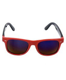 Miss Diva Shaded Sunglasses - Red & Black