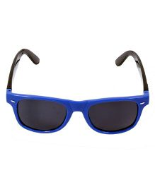 Miss Diva Shaded Sunglasses - Blue & Black