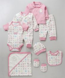 Wonderchild 8 Pcs Gift Set - Pink