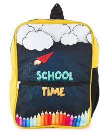 The Yellow Jersey Company School Time Bag Yellow - Height 14 inches